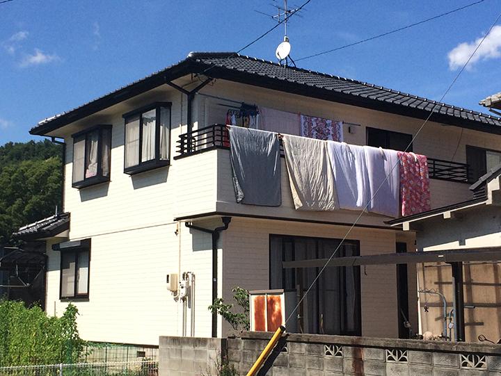 尾道市 K様邸 外壁塗装事例