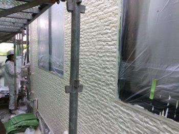高圧洗浄,シリコン塗装,耐水性