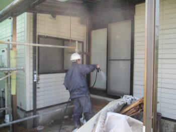 高圧洗浄,外壁リフォーム,シリコン塗装
