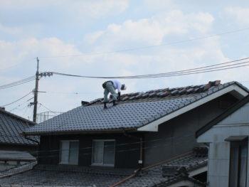 軽量瓦,水切,屋根リフォーム