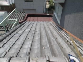 凍害,古瓦,屋根補修