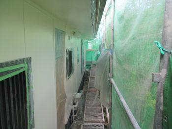 高圧洗浄,下地処理,シリコン塗装