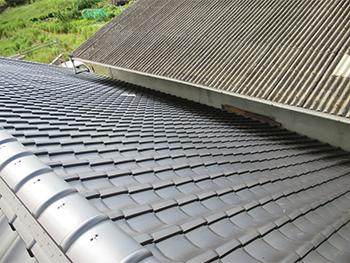 雨樋交換,雨漏り補修,屋根調査