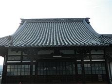 寺院屋根,丸瓦,土葺き