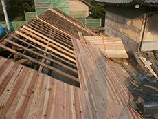 ルーフィング,屋根断熱,破風板