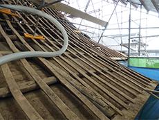 下地補強,垂木交換,勾配屋根