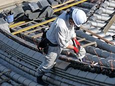 屋根補強,雨漏り補修,福山市