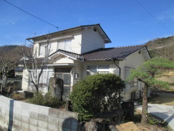 三州産釉薬瓦和形,妻切屋根,福山市