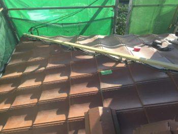 棟施工,勾配屋根,水切板金