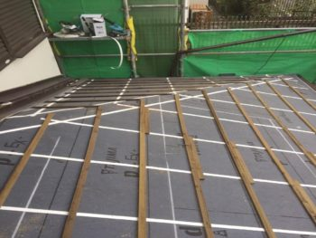 防災瓦,軽量屋根,小屋裏換気