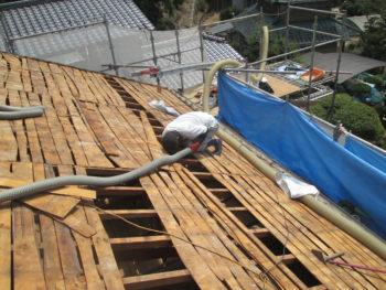 屋根裏清掃,雨漏り調査,藤井製瓦工業
