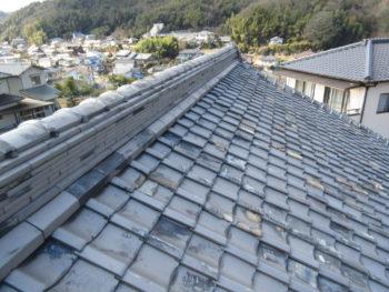 瓦の割れ,福山市,雨漏り調査
