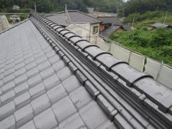 合板増し張り,垂木,藤井製瓦工業