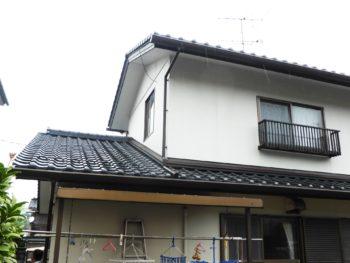 軽量化,妻切屋根,防水処理