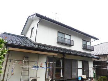 雨樋交換,外壁塗装,福山市