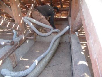 谷板金交換,雨樋掃除,屋根調査