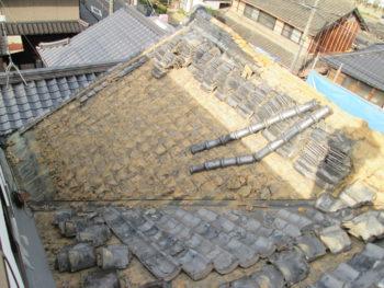 葺き土撤去,藤井製瓦工業,軽量化