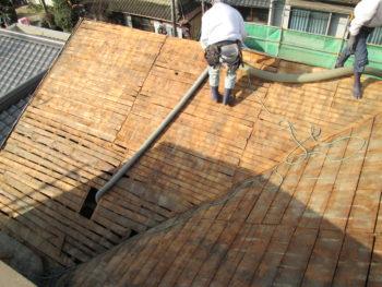 下地工事,福山市,屋根掃除