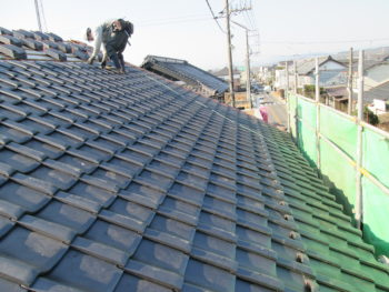 瓦のズレ,雨漏り,屋根修理