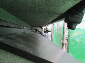 庇張替,雨漏り防止,板金塗装