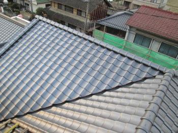 谷板金交換,藤井製瓦工業,勾配屋根