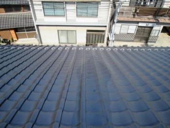 雪留め瓦,風災補償,福山市