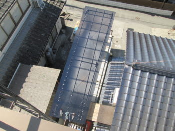 藤井製瓦工業,波板交換,耐久性向上