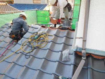 屋根修理,藤井製瓦工業,福山市
