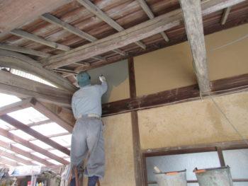 漆喰工事,福山市,藤井製瓦工業