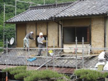 モルタル仕上げ,福山市,藤井製瓦工業