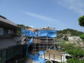 藤井製瓦工業,下地増し張り,福山市