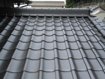 三州産釉薬瓦,屋根補修,下地増し張り