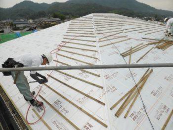 防水シート,福山市,屋根補修