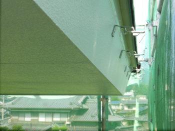 軒裏塗装,樋金具取付,藤井製瓦工業