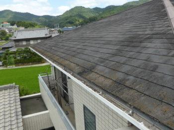 化粧スレート劣化,スレート屋根塗装,福山市
