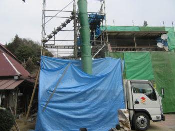 足場工事,藤井製瓦工業,福山