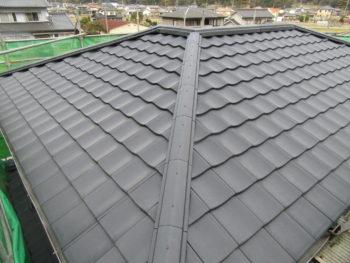 勾配屋根,天井断熱,藤井製瓦工業