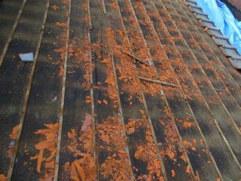 瓦解体,屋根塗装,藤井製瓦工業