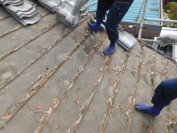 雨漏り修理,防水シート,藤井製瓦工業