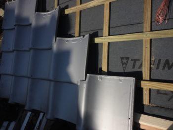 屋根板補修,藤井製瓦工業,福山市