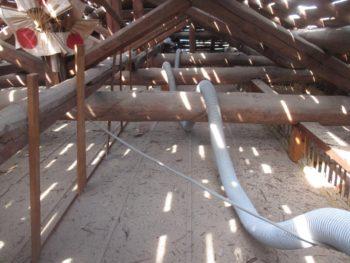屋根板,増し打ち,防水シート