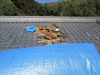 瓦解体,藤井製瓦工業,雨漏り修理
