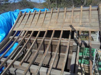下地補修,屋根板腐食,小屋裏換気