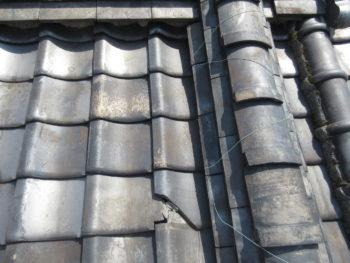 瓦の欠け,劣化,屋根修理