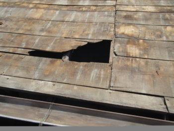 屋根板補修,勾配屋根,風災補償