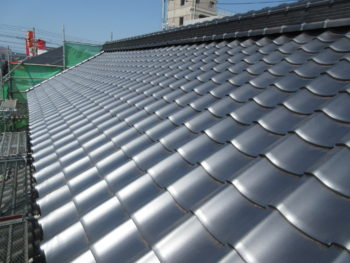 防災瓦,福山市,軽量屋根