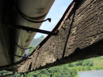サイディング,垂木,片流れ屋根