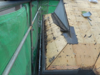 シリコン塗装,洋風屋根,福山市