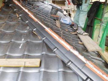 棟木交換,屋根点検,雨漏り修理