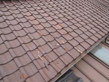 雨樋詰まり,板金屋根,塗装工事